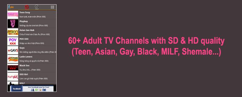 1 ATV Tivi 3.6 – Xem Video và 1 số kênh TiVi (18+) cho Android